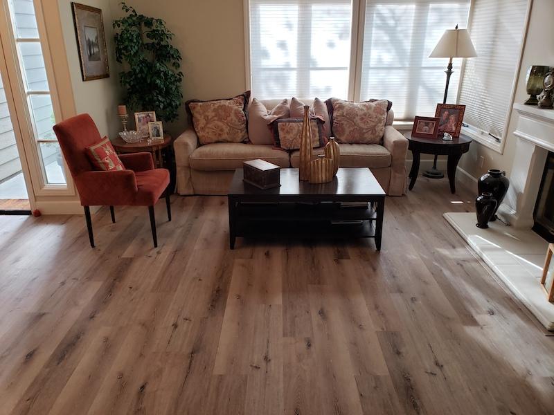 vinyl plank flooring Carmel Valley CA