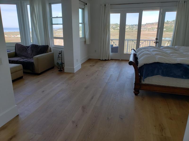 10 inch european oak flooring in Solana Beach
