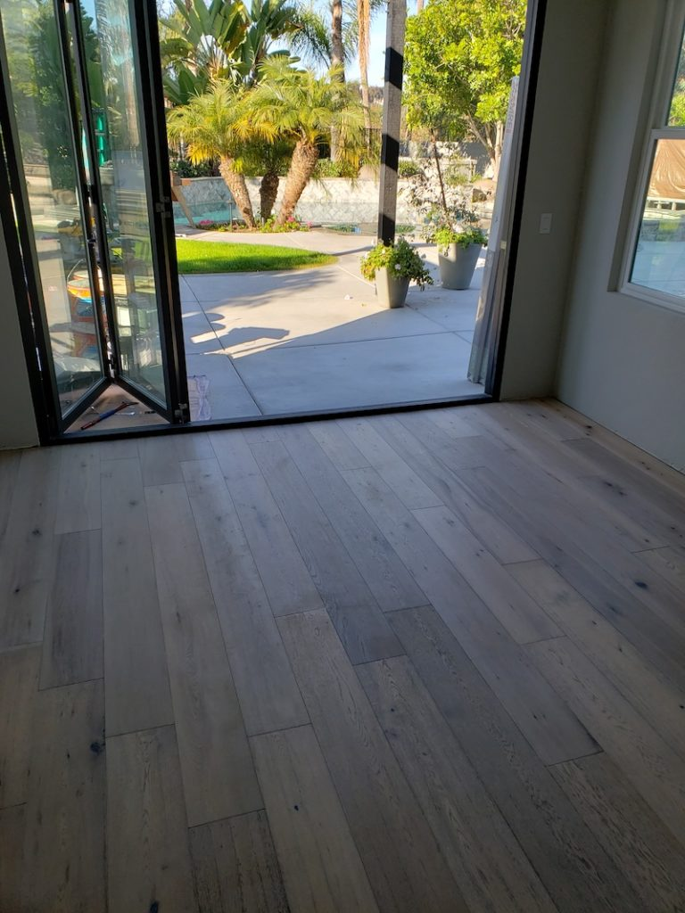 Carmel valley wood flooring addition