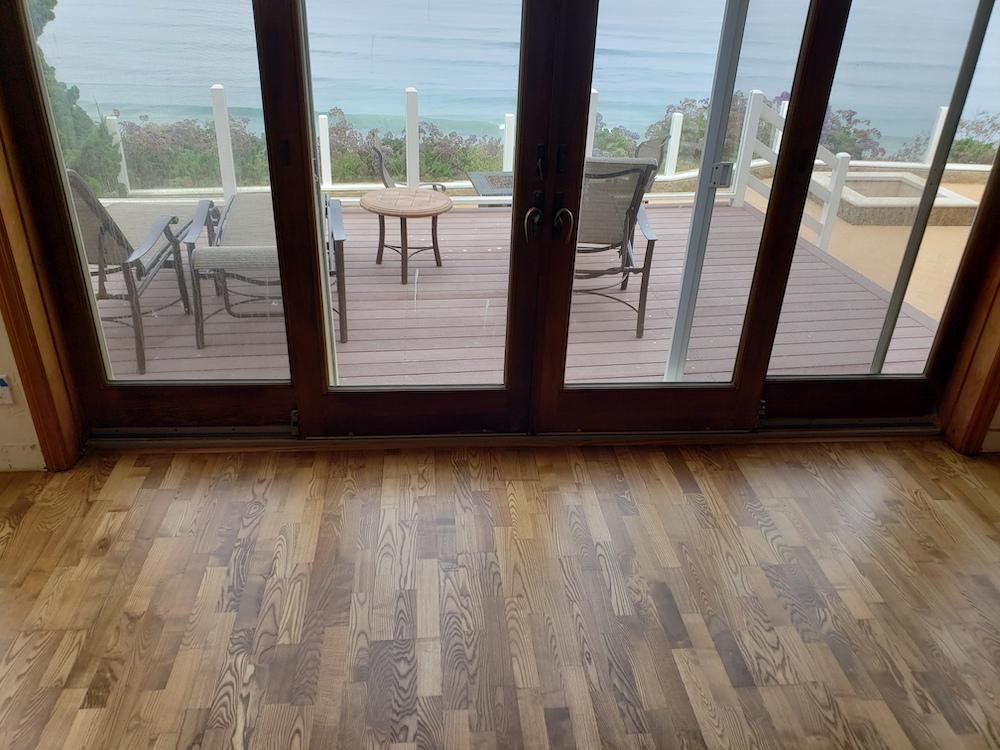 hardwood floor refinishing AFTER PIC