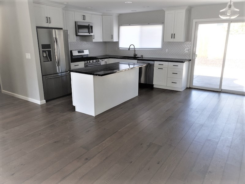 Living dining room hardwood