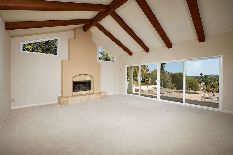 Family room carpet rancho encinitas