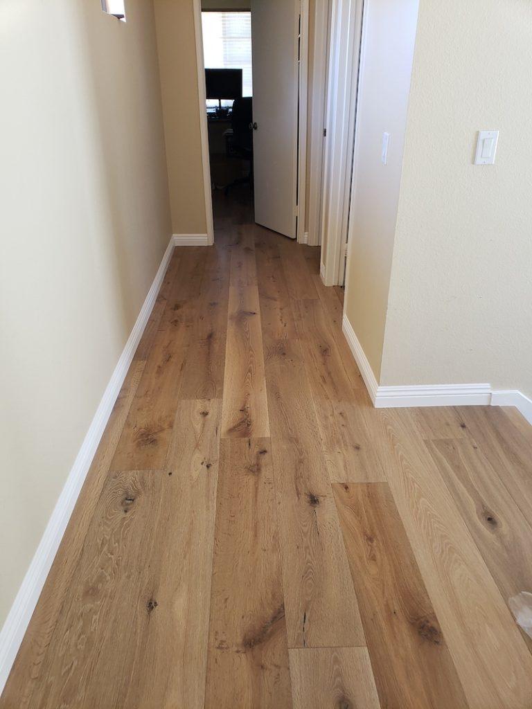 hallway woodfloor san diego After