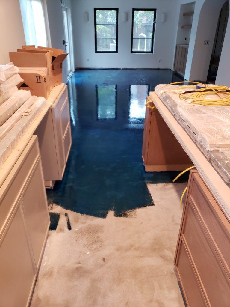 Kitchen epoxy sealer