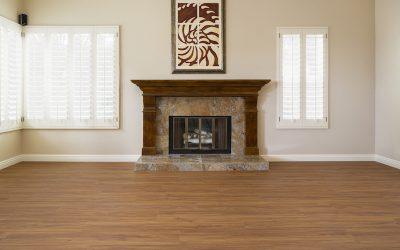 Carmel Valley vinyl plank flooring Living room after project