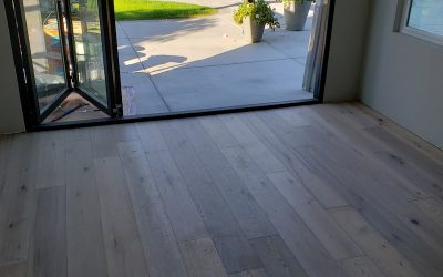 Carmel valley wood flooring addition