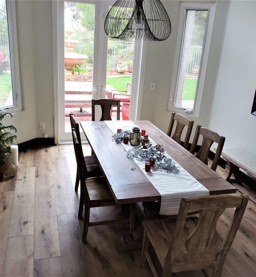 Vinyl-plank-dining-room