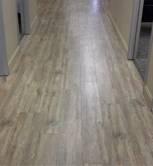 Vinyl-plank-hallway
