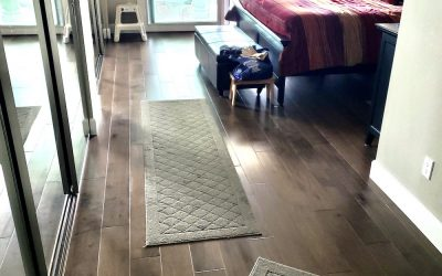 bedroom hardwood floors carmel valley after photo