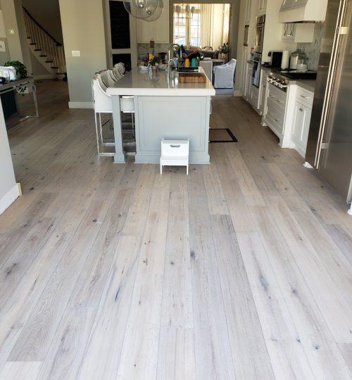 dinning room flooring addition