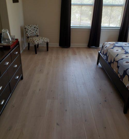 hardwood flooring bedroom Carmel Valley