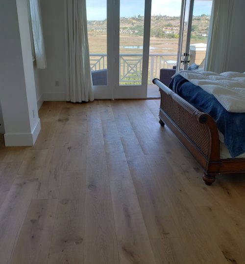 Solana Beach flooring project