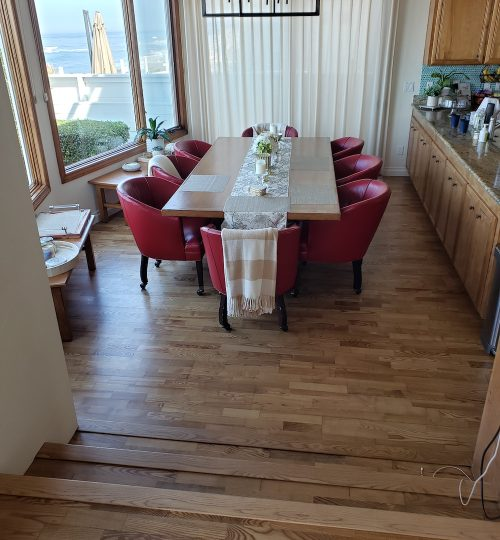 solana beach hardwood floors in kitchen