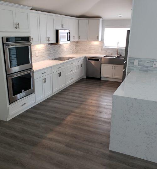 vinyl plank kitchen floors